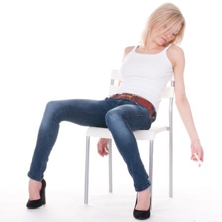 donna tossicodipendente si trova privo di sensi sul chaire