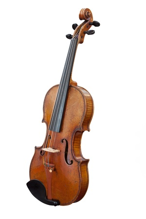 fiddlestick: violoncello isolated under the white background