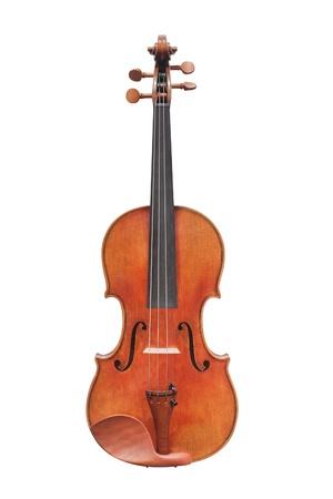fiddlestick: violines bajo el fondo blanco