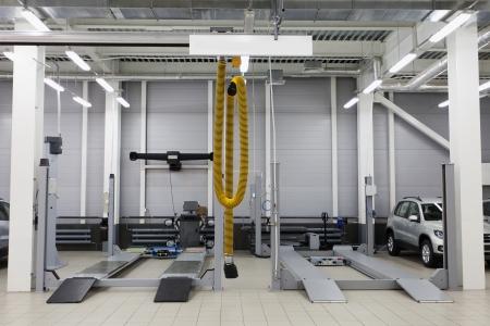 mecanico automotriz: Imagen de un taller de reparaciones