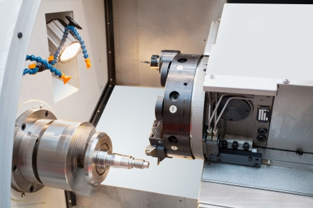 The image of a lathe Stock Photo - 16103452