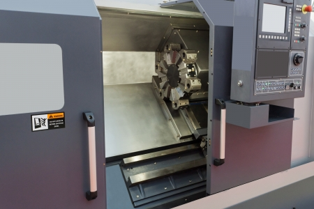 The image of a lathe Stock Photo - 16103518