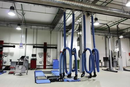 mecanica industrial: Imagen de un taller de reparaciones