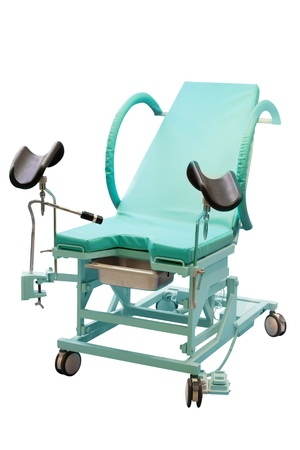 spetial: medical chair under the white background Stock Photo