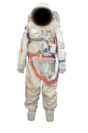 spacesuit: spacesuit under the white background