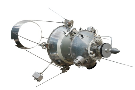 The image of a spacecraft photo