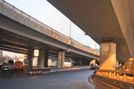 The image of city interchange Stock Photo - 17430375