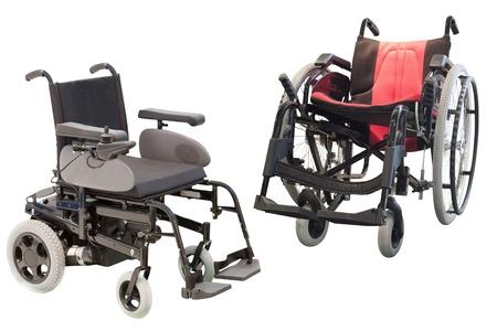 Medical Stühlen unter dem weißen Hintergrund