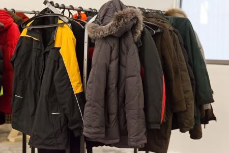 perchero de abrigos