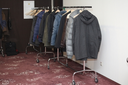 cloakroom: cloakroom with overclothes
