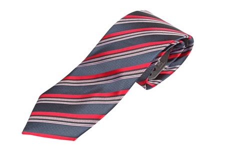 tie isolated under the white background photo