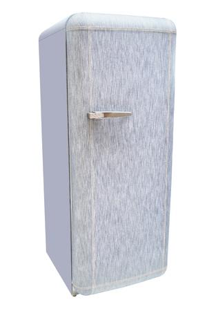 refrigerator under the white background Stock Photo - 18946003