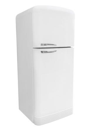 refrigerator under the white background Stock Photo - 18893869
