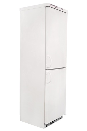 refrigerator isolated under the white background Stock Photo - 19322487