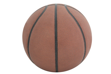 Ball under the white background photo