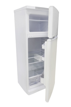refrigerator under the white background Stock Photo - 19487472