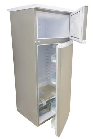 refrigerator under the white background Stock Photo - 19486974
