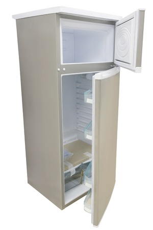 refrigerator under the white background Stock Photo - 19486974