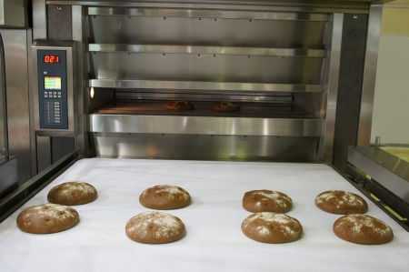 The image of bakery oven photo