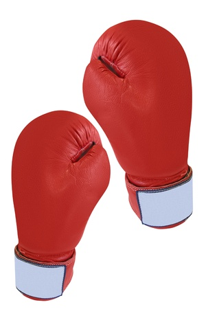 boxing glove under the white background Stock Photo - 19736726