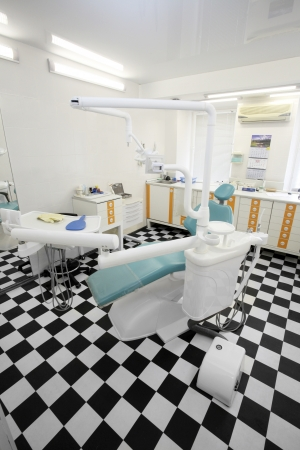 dental clinic: The image of dental chair