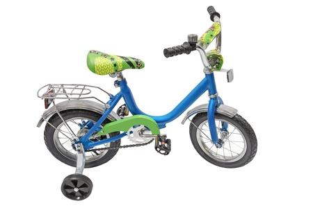 Bicycle isolated under the white background photo