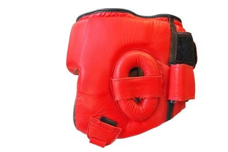 The image of boxing helmet Stock Photo
