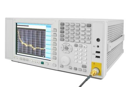 oscilloscope: the image of an oscilloscope Stock Photo