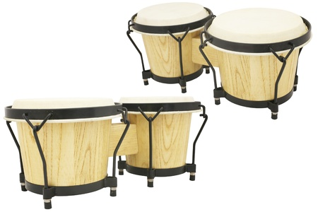 hand jamming: ethnic african drums