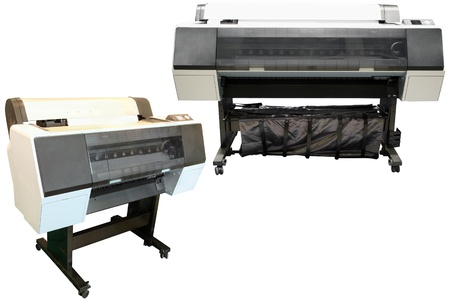 Digital printing machines photo