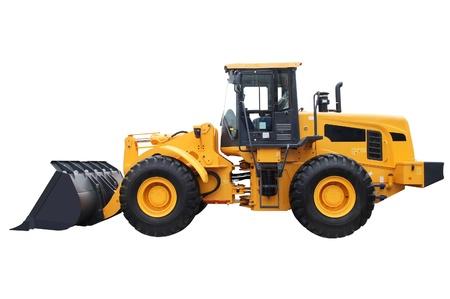 bulldozer: loader truck Stock Photo