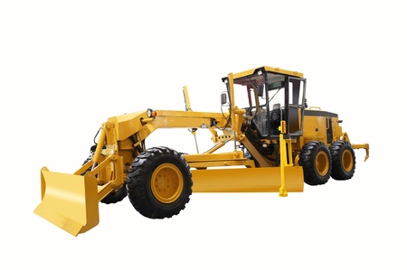 grader tractor Stock Photo - 20929854