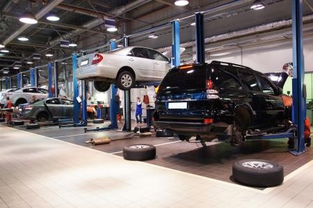 Afbeelding van een garage auto
