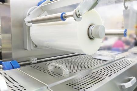 Das Bild eines Lebensmittelverpackungsindustrie Ausrüstung