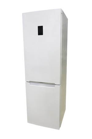 refrigerator under the white background Stock Photo - 23242598