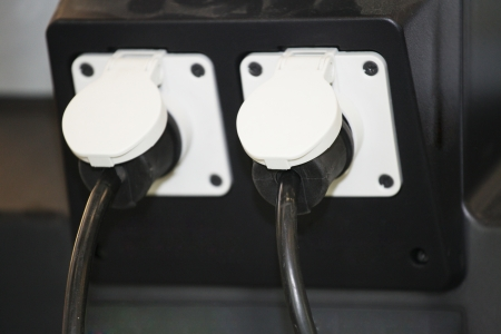 The image of a wall outlet photo