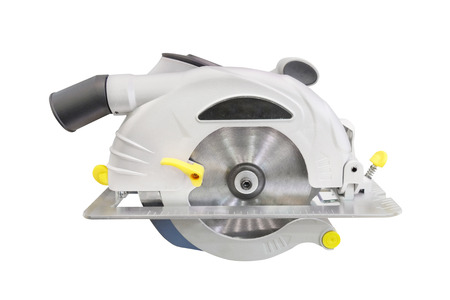 circular saw under the white  photo