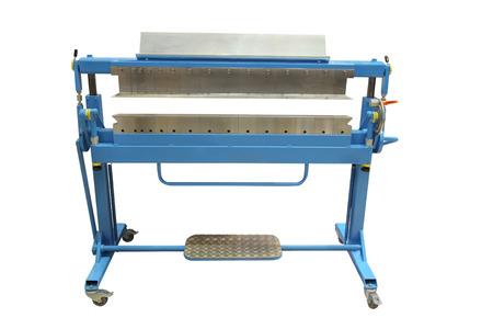 polygraphic: polygraphic cutting machine Stock Photo