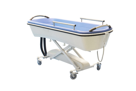 medical bed under the white  Stock Photo - 24646981