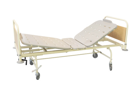 spetial: medical bed under the white