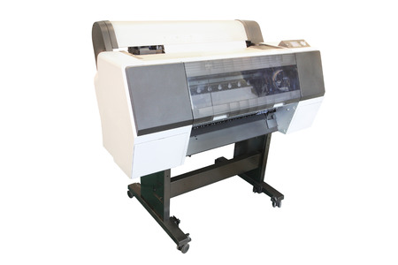 The image of a professional printing machine photo