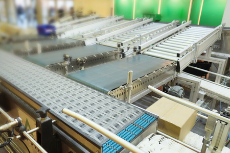 the image of automatic packing conveyor photo