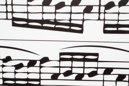 the image of a musical notes