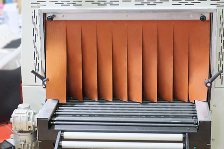 conveyor rail: The image of industrial equipment