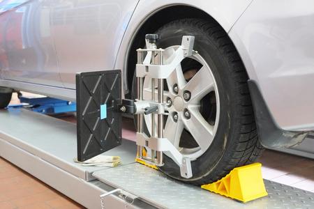 Image of a car repair garage photo