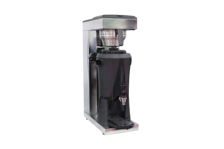 coffee machine isolated under the white background photo