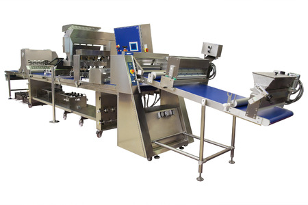 The image of a bakery conveyor photo