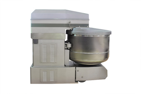 semimanufactures: spiral dough mixer under the white background