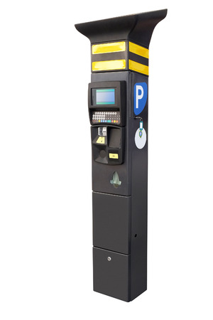 electronic meter: the image of Electronic parking machine