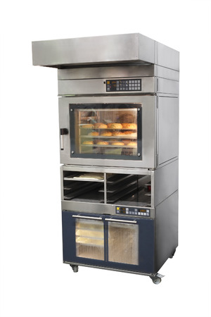 The image of bakery oven Stock Photo